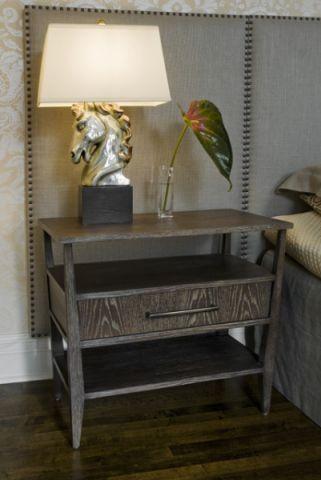卧室灰色细节混搭风格装修设计图片