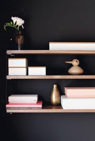 客厅黑色背景墙混搭风格装修效果图