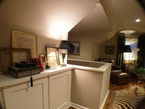 卧室白色橱柜混搭风格效果图
