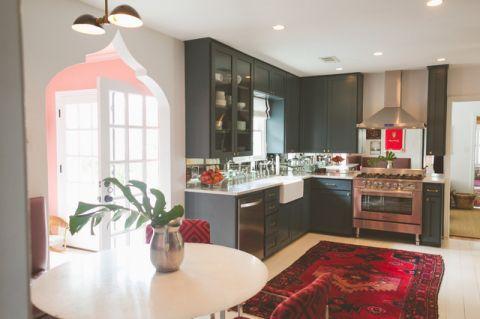 厨房门厅混搭风格装修设计图片
