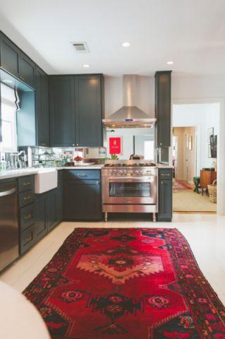 厨房细节混搭风格装潢设计图片