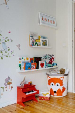 儿童房细节混搭风格装修效果图