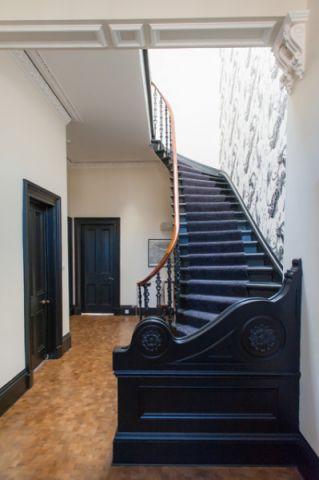 优雅时尚混搭风格楼梯装修效果图_土拨鼠2017装修图片大全