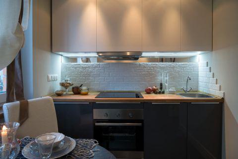 品质生活混搭风格厨房装修效果图_土拨鼠2017装修图片大全
