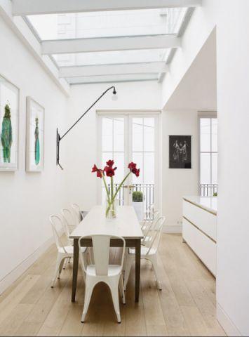 餐厅照片墙混搭风格装潢图片