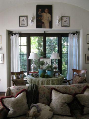 客厅照片墙混搭风格装修效果图