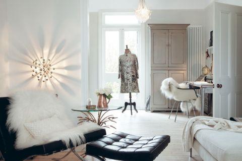 时尚创意混搭风格客厅装修效果图_土拨鼠2017装修图片大全
