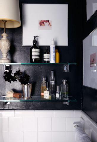 厨房黑色细节混搭风格装饰效果图