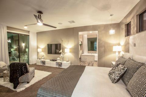 卧室橱柜混搭风格装潢图片
