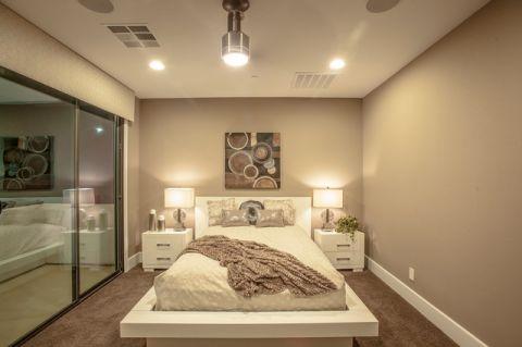 卧室橱柜混搭风格装饰设计图片