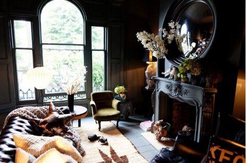 客厅细节混搭风格效果图