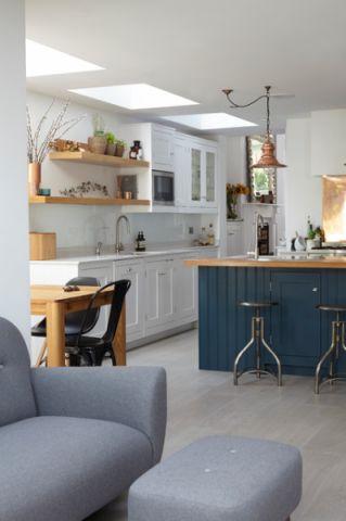 厨房橱柜混搭风格装潢设计图片