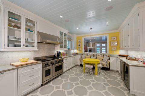 厨房照片墙混搭风格装修设计图片