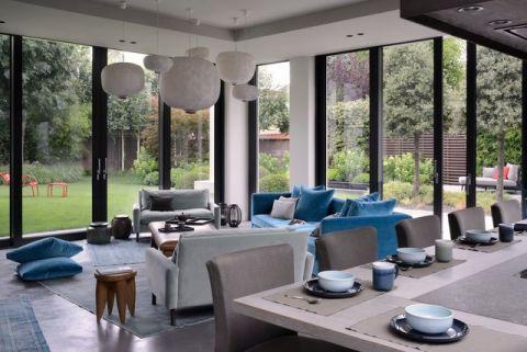 客厅吊顶现代风格装修效果图