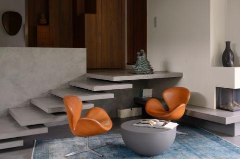 客厅楼梯现代风格装饰效果图