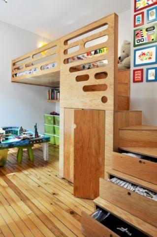 儿童房吊顶现代风格效果图