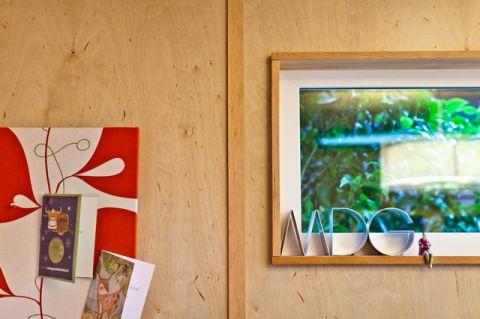 花园背景墙现代风格装潢设计图片
