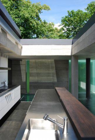 厨房外墙现代风格装潢效果图