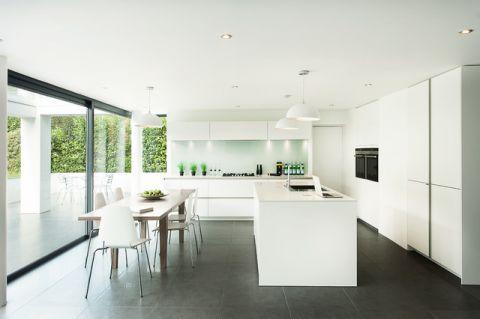 清新雅致现代风格厨房装修效果图_土拨鼠2017装修图片大全