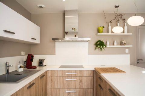 典雅现代风格厨房装修效果图_土拨鼠2017装修图片大全