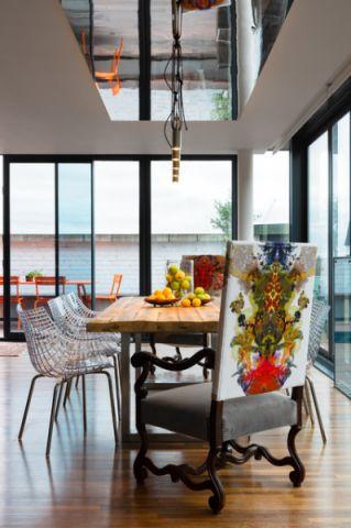 餐厅吊顶现代风格效果图