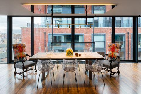 餐厅窗台现代风格装潢效果图