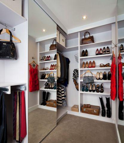 衣帽间橱柜现代风格装饰效果图