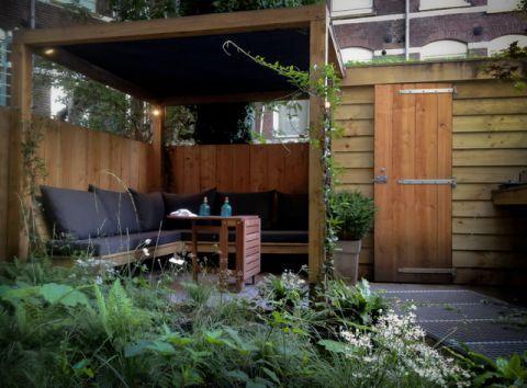 花园榻榻米现代风格装潢图片