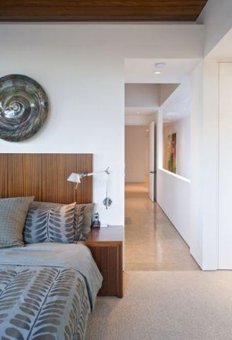 卧室走廊现代风格效果图