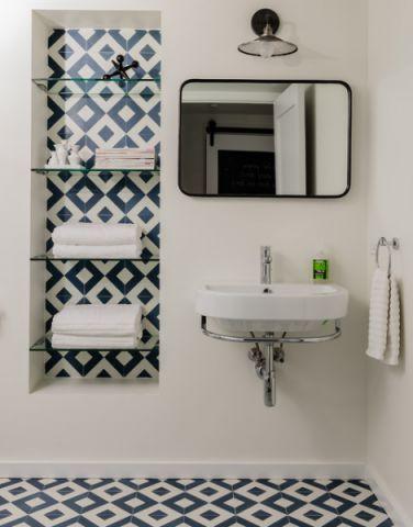休闲质感现代风格浴室装修效果图_土拨鼠2017装修图片大全