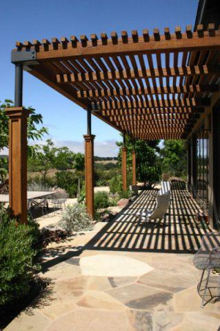 花园细节现代风格装饰图片