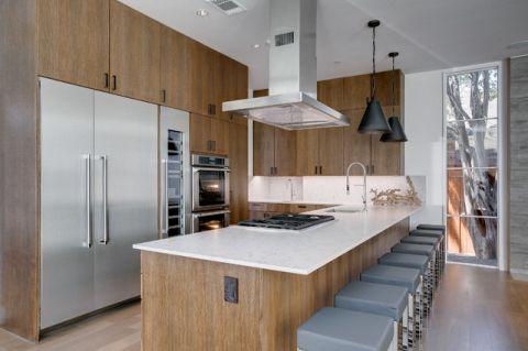 独具风情现代风格厨房装修效果图_土拨鼠2017装修图片大全