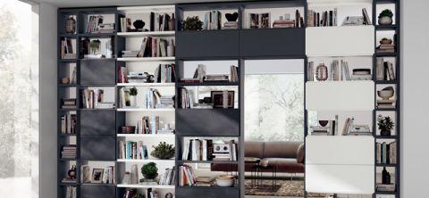 客厅隔断现代风格装饰设计图片