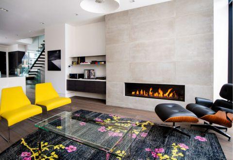 时尚创意现代风格客厅装修效果图_土拨鼠2017装修图片大全