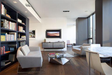 典雅现代风格客厅装修效果图_土拨鼠2017装修图片大全