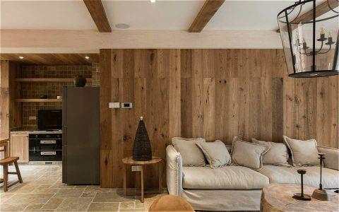 小骆花园120M²简约三居室装修效果图
