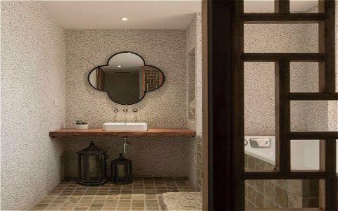 卫生间细节简约风格装修效果图