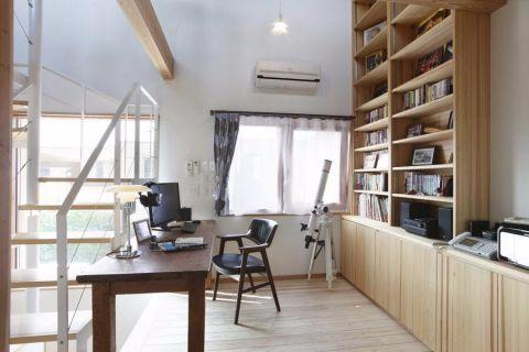 十里玫瑰89平二居室日式风格装修效果图