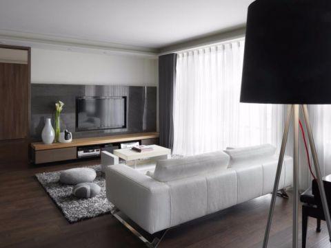 长投海德公园两居室现代简约风二居室装修效果图