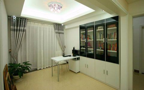 书房吊顶简约风格装修图片