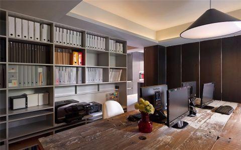 书房橱柜现代简约风格装潢图片