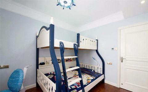 儿童房背景墙简欧风格装修效果图