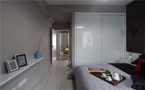 卧室走廊现代简约风格效果图