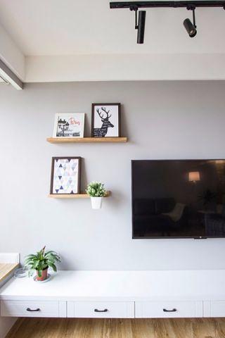 客厅细节北欧风格装修效果图