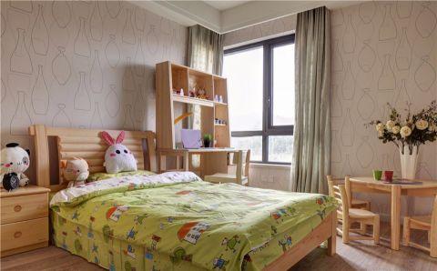 儿童房窗帘现代风格装潢设计图片