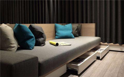 客厅细节现代简约风格装潢图片