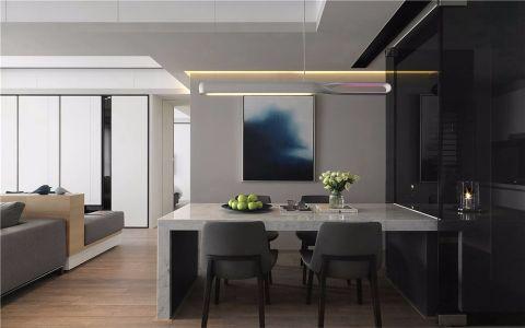 蔚蓝天地140平方现代简约风格两室装修效果图