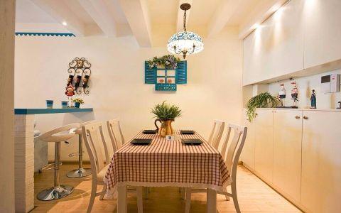 餐厅吊顶地中海风格装修效果图