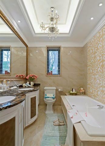 卫生间细节欧式风格装潢效果图