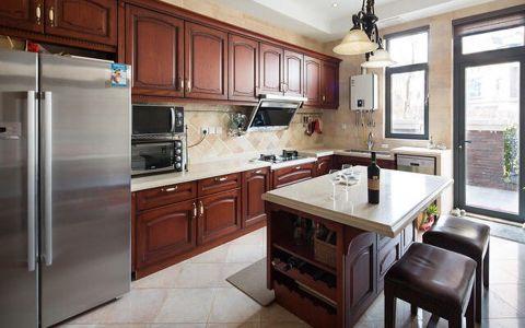 厨房橱柜美式风格装饰设计图片
